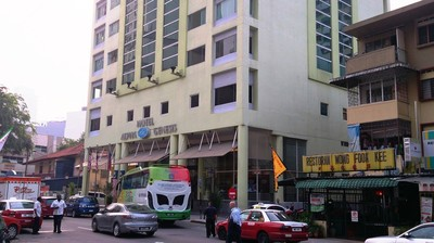 ビキビンタンの「アルファ ジェネシス ホテル(Alpha Genesis Hotel